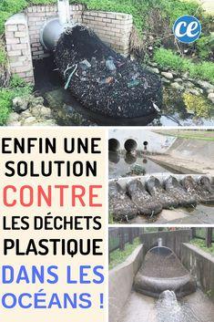 La solution pour éviter la pollution plastique des océans Solution, Earth, Inspire, People, Ideas, Good Vibes, Animales, Drain Tile, Plastic Pollution