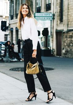 Pair It With Black Trousers for Extra Polish