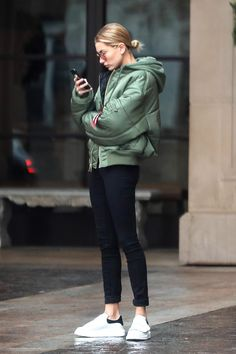 """baldwinupdates: """""""" January 20: Hailey leaving the Montage Hotel in Beverly Hills [HQs] """" """""""