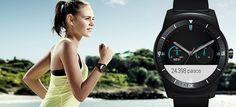 LG G Watch R running