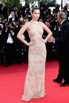 Bella Hadid in Cavalli Couture at Cafe Society Premiere at 2016 Cannes Film  Festival Festival De d2d4b2d47f2e