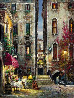 Under the Skyline by Cao Yong ~ Venice series
