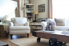 Living Room Decorating Ideas Traditional Living Room by The Old Painted Cottage