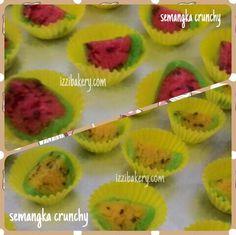 semangka yang membuat kita segar dimakan begitu saja ataupun jus, sekarang hadir dalam bentuk cookies.... kaya rasa susu, lumer di mulut...