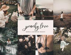 Peachy Love 8 Mobile & Desktop Lightroom Presets, Peach Preset, Instagram Filters, Pastel Presets, Influencer Preset, Cozy preset, DNG