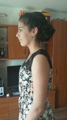 #promhairstyle #braidandcurls