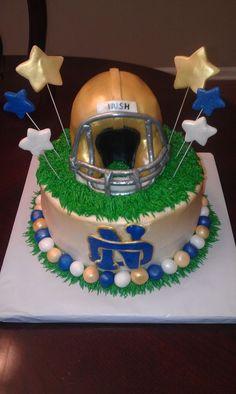 Notre Dame Cake | Notre Dame Football Cake