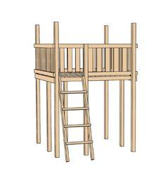 Cute Spielturm WEKA RED POINT Kinderspielturm D EUR Rechnungskauf m glich Von ihr oben kann man alles beobachten