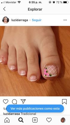 Pedicure, Beauty Hacks, Hair Beauty, Nail Art, Veronica, Nails, Pilates, Nails Inspiration, Gorgeous Nails