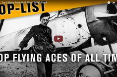Top 5 Flying Aces of All Time I British Pathé