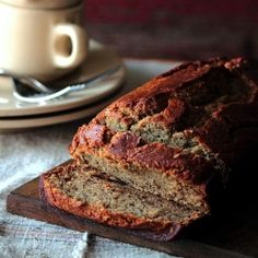 Banana Rum Bread: for tingling tongues and happy taste buds.