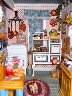 1:12 scale kitchen