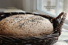 Bulgur Teff Bread…perfect when served with a nice bowl of soup. Teff Recipes, Recipes With Yeast, Bread Recipes, Baking Recipes, Healthy Recipes, Einkorn Bread, Flavored Butter, Pancakes Easy, Peanut Butter Cookie Recipe