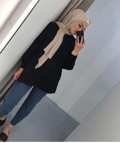 Abonnez-vous 💜 Aimez-vous 💙 Laissez un commentaire 💛  Modest Fashion Hijab, Modern Hijab Fashion, Hijab Fashion Inspiration, Street Hijab Fashion, Islamic Fashion, Hijab Chic, Muslim Fashion, Mode Inspiration, Mode Outfits