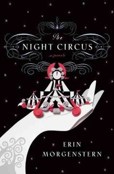 This is one of Amy's favorite books of all time!  Part Cirque-du-Soleil, part mystery, part Tim Burton-like fantasy, this book has magic, romance, and murder, all set in the most amazing black and white circus you've ever wanted to attend!  The book describes itself as:  Waging a fierce competition for which they have trained since childhood, circus magicians Celia and Marco unexpectedly fall in love with each other and share a fantastical romance that manifests in fateful ways.
