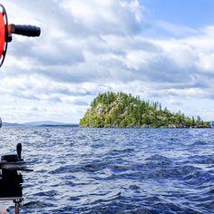 Island of Ukonkivi, Lake Inari, Finland; by Heikki Rantala