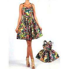 Doğum Gününüz için harika bir anne kız kıyafeti seçimi.  Hotice Anne Kız Çiçekli Askılı Elbise  #doğumgünü #annekızkıyafet #annekızkombin #dogumgunukiyafeti #doğumgünükıyafeti #annekizdogumgunukiyafetleri #annekizdogumgunuelbisesi #annekızelbise  #annekızelbiseleri  #annekızkombinleri