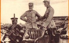 Regele Carol I şi generalul Alexandru Averescu pe front Sursa muzeulvirtual.ro Romania, Country, Painting, Military, Rural Area, Painting Art, Country Music, Paint, Draw