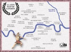 A Map Of London In Latin | Londonist