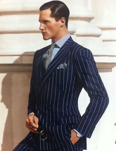 Pinstripe _ must update suit collection!