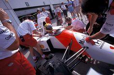 f1pictures:  Ayrton Senna McLaren - Honda 1992