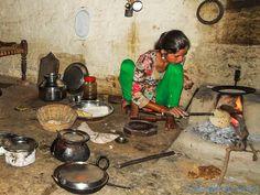La cuisine Kitchen Orchha - India
