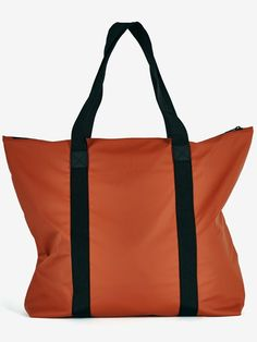 tote bag in rust by Rains
