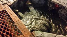 Magnetized Modular Sewer / Cavern Board (WIP)