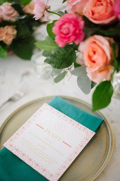 'ello Paper | Custom Wedding Stationery | Wedding Crasher's Tour | Photo by Jessica Maida Photography