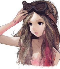 Imagen de anime girl, anime, and art