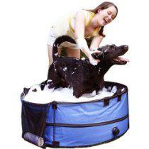 ABO Gear Dirty Dog Portable Pet Tub 36 Inch - ABG-10658