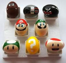 Funny pictures about Super Mario Eggs. Oh, and cool pics about Super Mario Eggs. Also, Super Mario Eggs photos. Video Game Easter Eggs, Cool Easter Eggs, Easter Crafts, Holiday Crafts, Egg Pictures, Easter Egg Designs, Easter Ideas, Diy Ostern, Decoration Originale