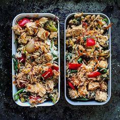 Bbq Tofu Stir Fried Rice • Anna Coralee