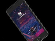 Tomorrowland App - Welcome Screen by Moisés Dias