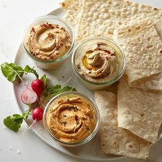 Hummus Sampler #williamssonoma