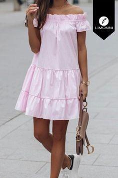 Simple Dresses, Cute Dresses, Casual Dresses, Fashion Dresses, Traje Casual, Vestidos Vintage, Summer Dresses For Women, Pattern Fashion, I Dress