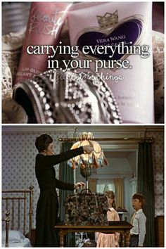 Haha what's really funny is when you switch purses because you have to take everything out.