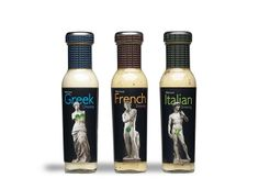 Salad dressings #packaging
