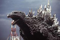 Godzilla (ゴジラ, Gojira) is a daikaiju who first appeared in the 1954 Toho film, Godzilla. Japanese Film, Japanese American, Godzilla Costume, Shadow Dragon, Godzilla Vs, Batman Vs Superman, King Kong, Sci Fi, Lion Sculpture