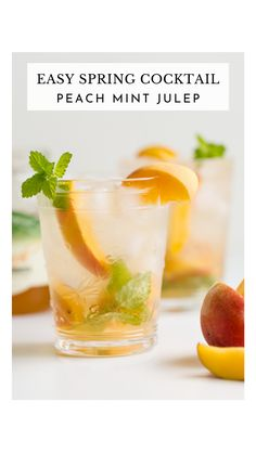 Spring Cocktails, Refreshing Cocktails, Fun Cocktails, Yummy Drinks, Cocktail Recipes, Summer Bourbon Cocktails, Cocktail Ideas, Bourbon Drinks, Whiskey Cocktails