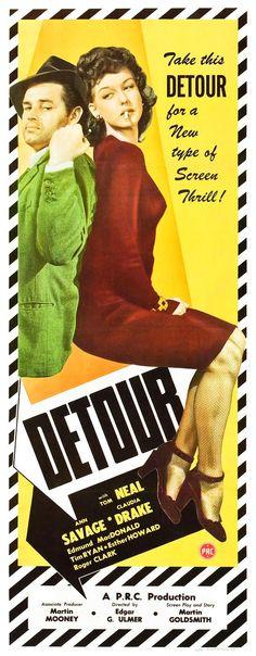 Detour - Edgar G. #Ulmer - 1945 #crime