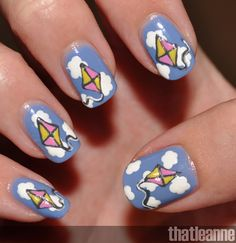 Kite Weather Nails for more fashion: http://www.aliexpress.com/store/924768