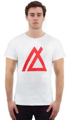 Men's breathe organic cotton white t-shirt Industrial Style, Breathe, Organic Cotton, Looks Great, Mens Tops, How To Make, T Shirt, Jackets, Sydney