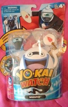 5194a89e29c Yo-kai Watch Figure Whisper Butler Yokai - Toy Coverts Into Another Figure  - NEW