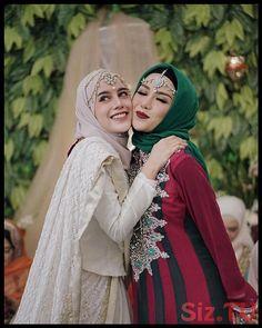 Bridal Hijab, Wedding Hijab, Hijab Style Dress, Hijab Outfit, Muslim Wedding Dresses, Bridesmaid Dresses, Hijab Fashion, Fashion Dresses, Style Fashion
