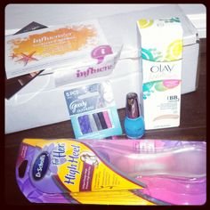 My #SunVoxBox from @Influenster, the inspiration for this board.