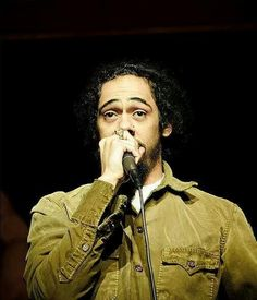 Great photo of Damian Marley.