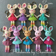 Cute bunny rabbit  made by order 9 pieces love it ❤️#ของขวัญ #ของชำร่วย #พวงกุญแจ #handmade #handcrafted #crochet #crocheting #crochetlove #crochetersofinstagram #crochetgirlgang #crochetdoll #crochetrabbit #rabbitsofinstagram #rabbit #bunny #cute #kawaii #amigurumidoll #amigurumitoy #amigurumi #amigurumilove #keychain #rainbow #colorful #color #instalike #like4like