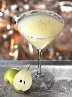 Millionaire Pear: this cocktail tastes as good as it looks.