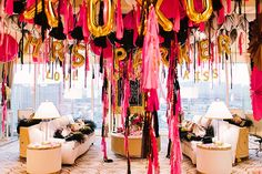 BALLOONS AND TASSELS